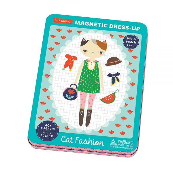 Giftsatbar Zottegem Magnetic Tins Cat Fashion 05