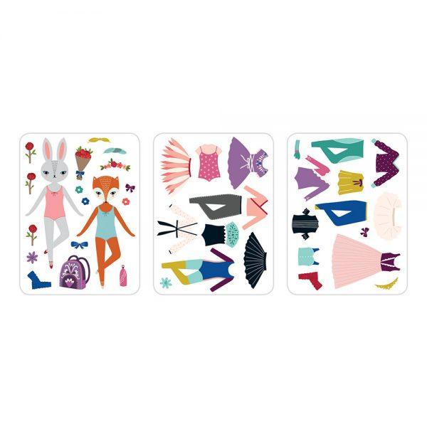 Giftsatbar Zottegem Magnetic Tins Woodland Ballet 01