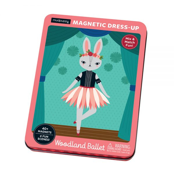 Giftsatbar Zottegem Magnetic Tins Woodland Ballet 03