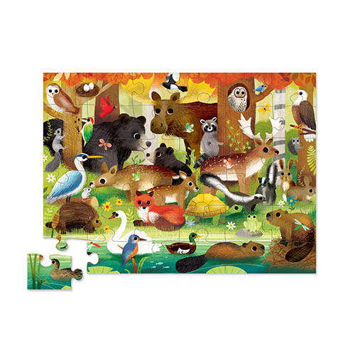 Floor Puzzle Forest Friends 2