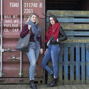 Knit Factory Fashion Omslagdoeken Najaar
