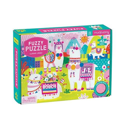 Fuzzy Puzzle Lama