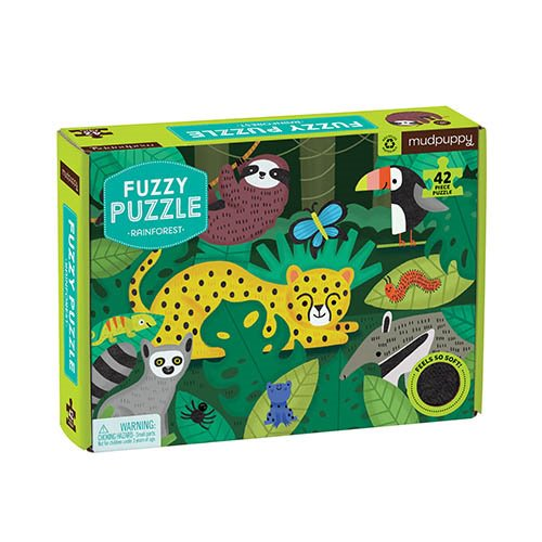 Fuzzy Puzzle Rainforest