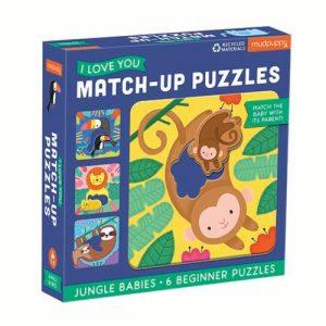 Match Up Puzzle Jungle