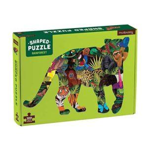 Shaped Puzzle Rainforest